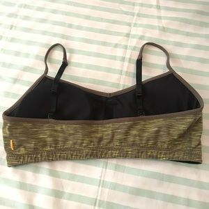 Lucy Intimates & Sleepwear - Lucy Green and Black Padded Sports Bra Size Large
